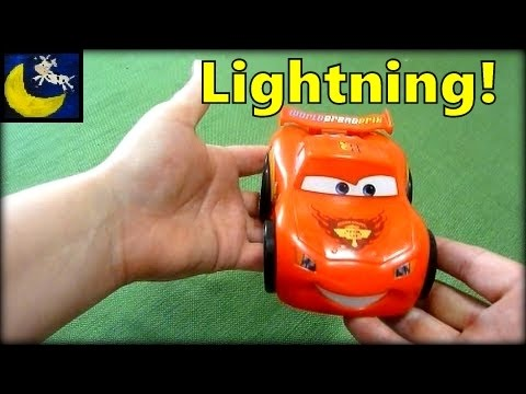 Review Of Shake N Go! Disney Pixar Cars 2 Lightning McQueen - I'm Not Francesco