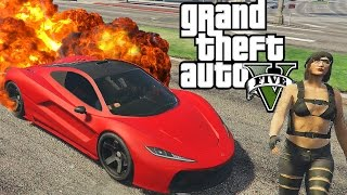GTA 5 Online Funny Moments - Explosions, Sausage Hunting!