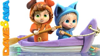 Row Row Row Your Boat   Nursery Rhymes and Baby Songs from Dave and Ava
