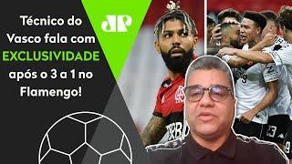 Exclusivo: Técnico do Vasco abre o jogo e conta estratégia para vencer o Flamengo