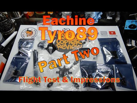Eachine Tyro89 Flight Test