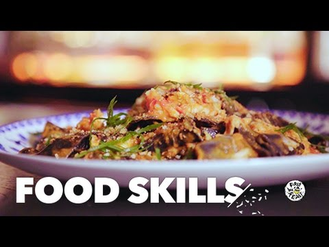 Dale Talde Breaks Down the Keys to Squid-Ink Pasta | Food Skills