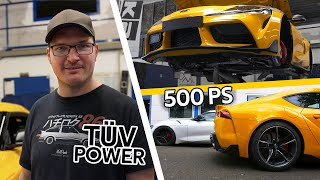 Toyota Supra MK5 - TÜV Tuningpaket: Upgradeturbo & Federn - MPS Engineering