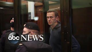 Alexei Navalny sentenced to prison