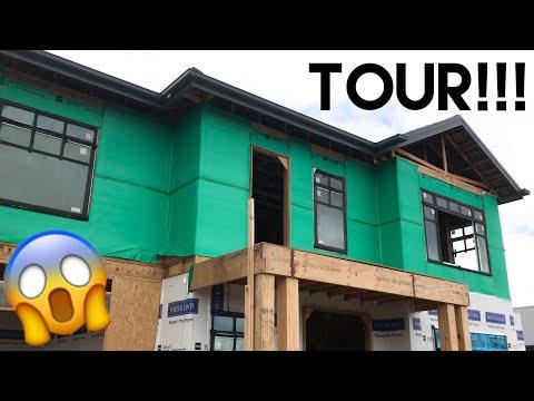 Building Our Dream Home | More Framing Up, Inspections + Walk Through Tour!! - Episode 8