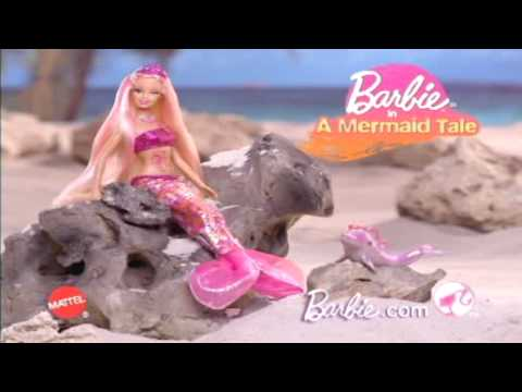 2010 Barbie in A Mermaid Tale - Merliah Barbie Doll Commercial