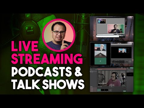 Best Streaming Software for Online Talk shows or Podcasts