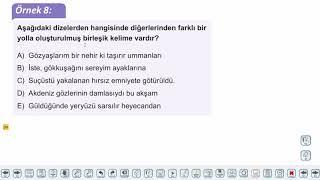 Eğitim Vadisi TYT Türkçe 13.Föy Sözcükte Yapı - 3 Konu Anlatım Videoları