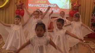 Танец белых журавлей 9 мая
