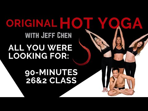 #pureyogatv 90-min Original Hot Yoga (bikram yoga class) LIVE!