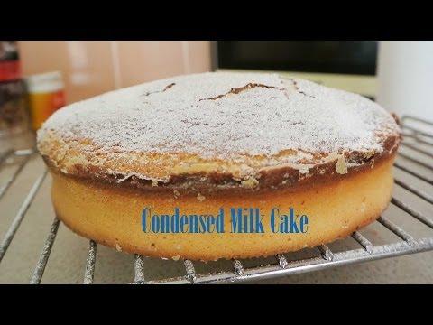 Video CONDENSED MILK CAKE RECIPE