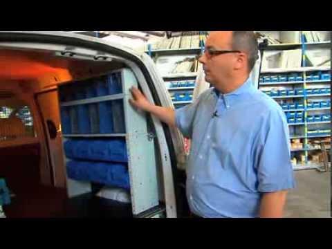Guida Allestimento Interni Syncro System - Scaffali, cassetti e moduli