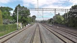 preview picture of video 'Odcinek Gdynia Główna - Sopot - Gdańsk Główny z tyłu pociągu TLK Heweliusz'