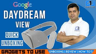 Google DayDream VR India Unboxing and Review