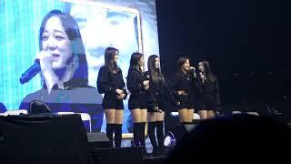"""180325 구구단 gugudan Ment: Haebin 소원 들어주 Make a Wish + """"Main Vocal"""" Hana 😂 설렘주의보 Fluttering Forecast"""