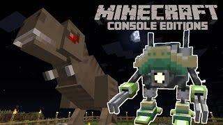 Minecraft: ROBOTS & DINOSAURS IN TU19? New Textures!