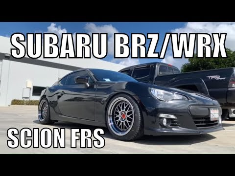 SUBARU BRZ / SUBARU WRX / SCION FRS - CR2P Wheels BC Coilovers