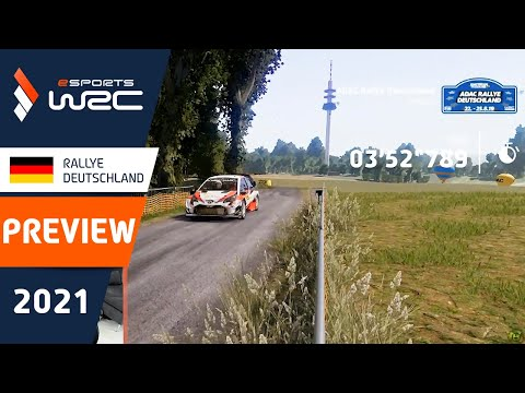 E-sports WRC2021 ドイツ プレビュー動画