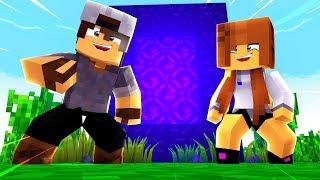 Minecraft: FÉRIAS #14 - FIZEMOS UM PORTAL PARA O NETHER!