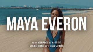 Model Video Shoot - Maya Everon on Seal Beach (Fashion Videography)