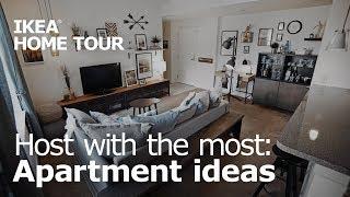 A Creative & Entertaining Living Room Makeover - IKEA Home Tour