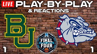 Baylor vs Gonzaga National Championship   Live Play-By-Play & Reactions