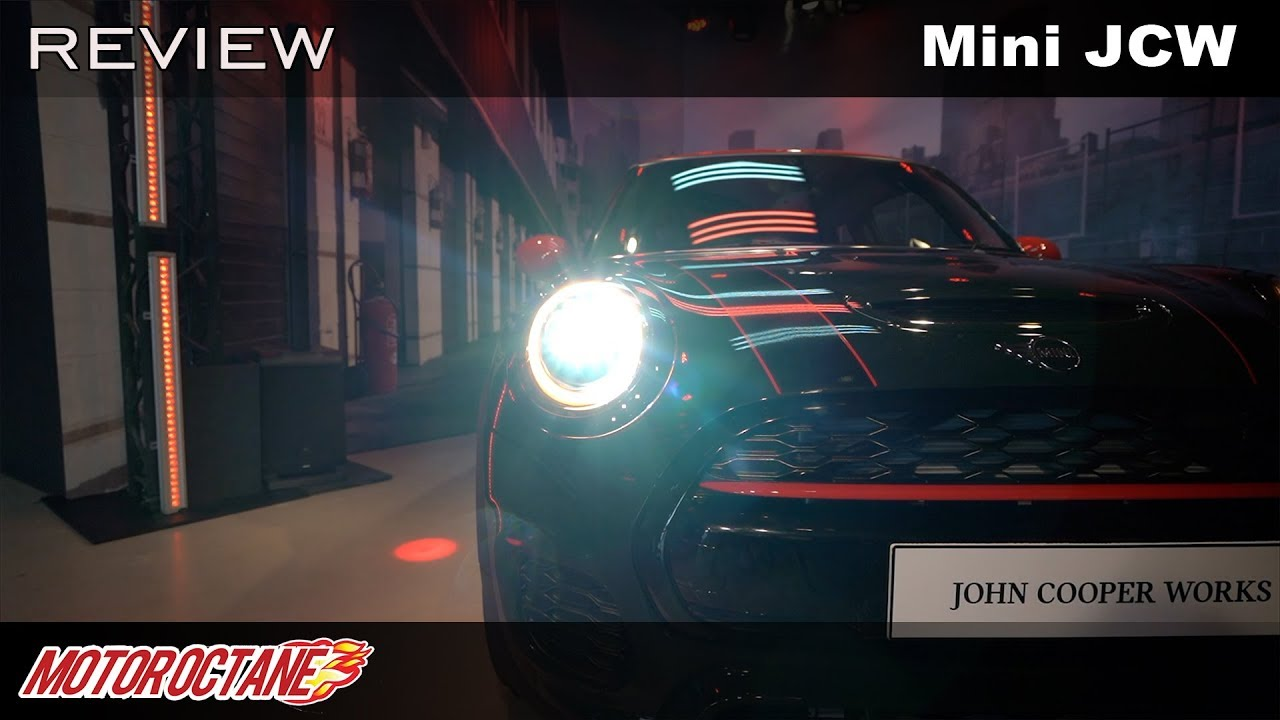 Motoroctane Youtube Video - Mini John Cooper Works - Awesome Performance | Hindi | MotoroOctane