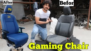 Making A Real PC Gaming Chair From Car Seat