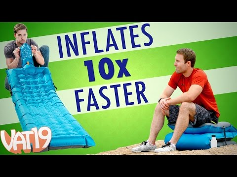 Air Mattress that Inflates in Seconds