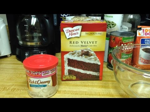 Video How to make a Red Velvet Cake from Duncan Hines