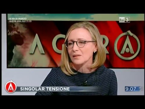 Intervento Agorà Il Segretario Nazionale ANFP, Lorena La Spina, al programma televisivo del 4 dicembre 2015: giubbotti antiproiettili