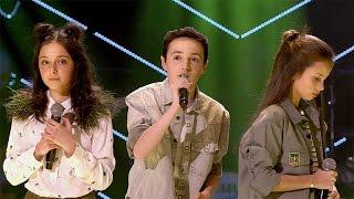 Raphaelle, Romy & Stijn - 'Never Be Like You' | Battles | The Voice Kids | VTM