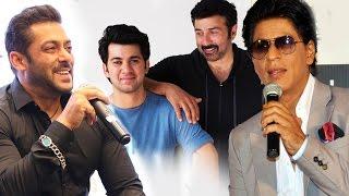 Salman & Shahrukh WELCOMES Sunny Deol's Son Karan In Bollywood