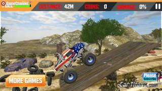 Patriot Wheels Monster Truck 3D Games, Race Off Road, Driven Truck Games, Games for Children