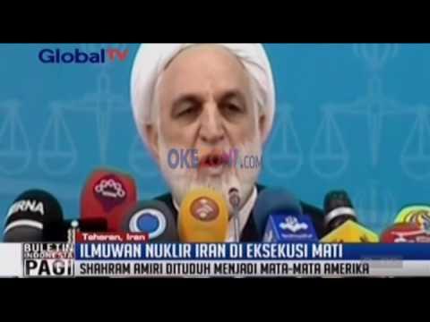 Ilmuan Nuklir Iran Dieksekusi Mati