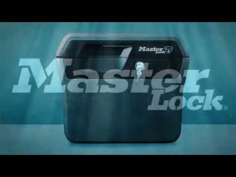 Water resistance of Master Lock safes and chests