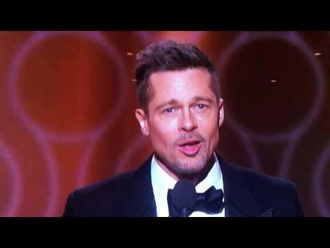 Brad Pitt Golden Globes 2017