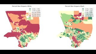 Census Data Analysis and Mapping with Python