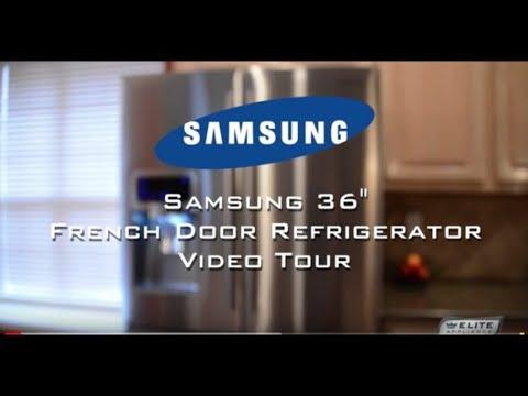 Samsung 4-Door French Door Refrigerator Video Tour (RF4287HARS)