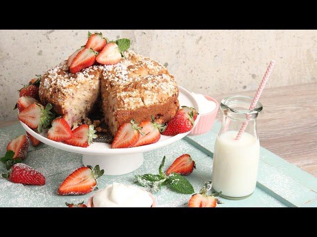 Laura In The Kitchen Strawberry Shortcake Coffee Cake
