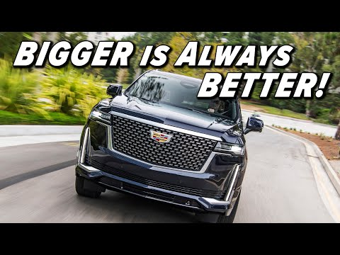 External Review Video rrKUiJqyYS4 for Cadillac Escalade SUV (5th Gen)
