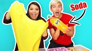 SODA SLIME WITH KARINA GARCIA!!