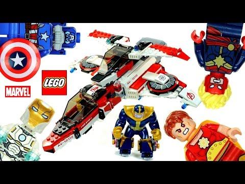 Vidéo LEGO Marvel Super Heroes 76049 : La mission spatiale dans l'Avenjet