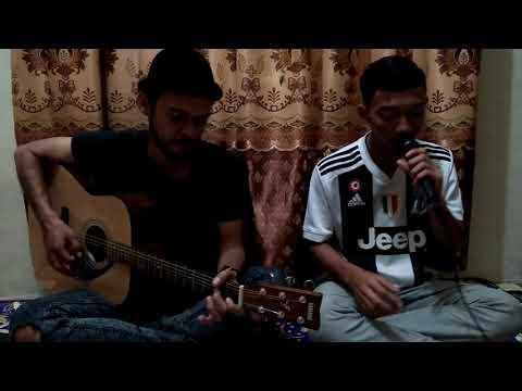 Nidji Laskar pelangi - Cover Rahidul fatta and gitaris hometian