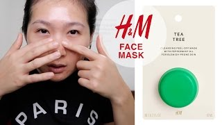Mask monday hm witch hazel and willowherb mud mask most beauty review tea tree face mask hm for acne prone skin masker hm solutioingenieria Image collections