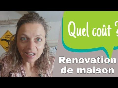 Le coût de rénovation de maison