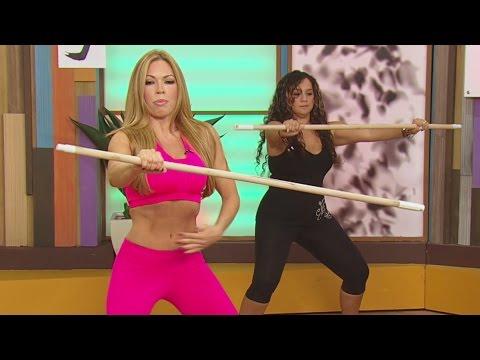 Claudia Molina te enseña a liberar la tensión con ejercicio