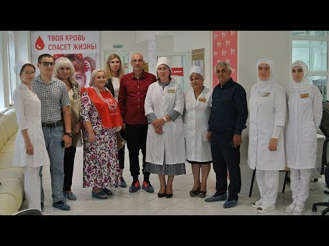 Движения «Я твой донор» в Чеченской республике