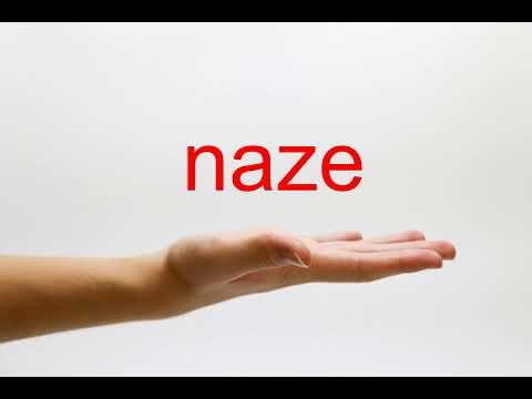 how-to-pronounce-naze--american-english