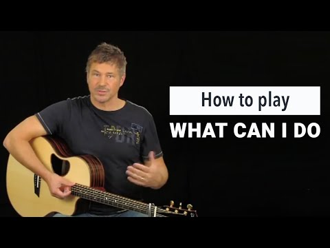 What Can I Do - Youtube Tutorial Video